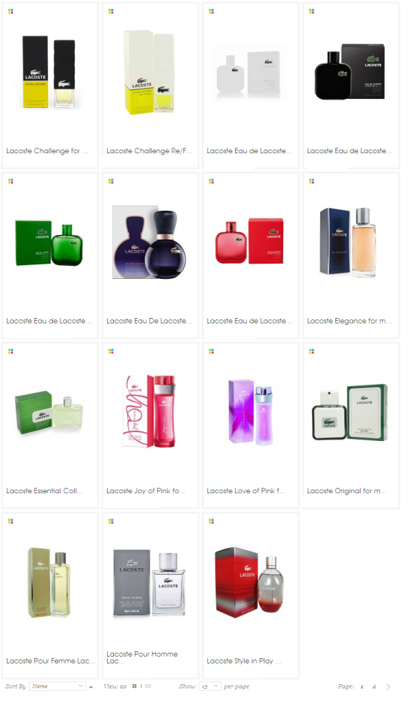 Lacoste Perfume for Mens and Womens Dubai
